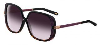 Gafas de sol Loewe SLW802 Marrón Cuadrada