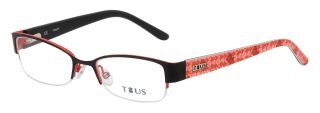 Gafas graduadas Tous VTK005 Negro Rectangular
