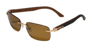 Gafas de sol Chopard SCH56V Dorados Rectangular