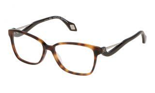 Gafas graduadas Carolina Herrera New York VHN550M Marrón Cuadrada