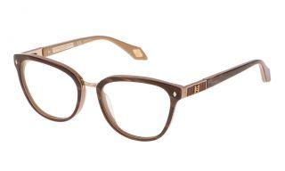 Gafas graduadas Carolina Herrera New York VHN554 Granate Redonda