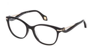 Gafas graduadas Carolina Herrera New York VHN567 Negro Redonda