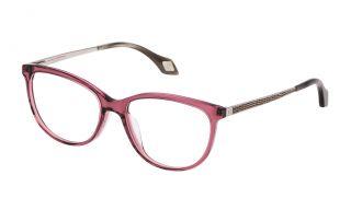 Gafas graduadas Carolina Herrera New York VHN569 Rosa/Fucsia Redonda
