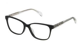 Gafas graduadas Tous VTO988 Negro Cuadrada