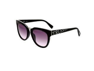 Gafas de sol Trussardi STR180 Negro Redonda