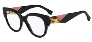 Gafas graduadas Fendi FF0271 Negro Rectangular