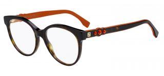 Gafas graduadas Fendi FF0275 Multicolor Rectangular