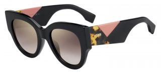 Gafas de sol Fendi FF0264/S Negro Rectangular