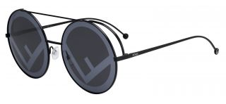 Gafas de sol Fendi FF0285/S Negro Redonda