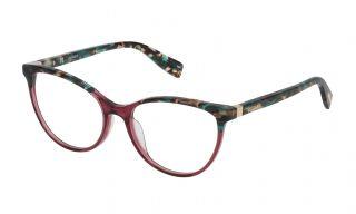 Gafas graduadas Trussardi VTR234 Verde Mariposa