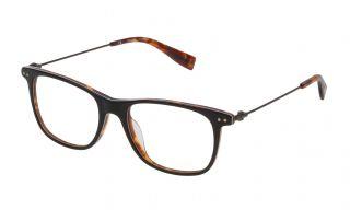 Gafas graduadas Trussardi VTR246 Negro Cuadrada