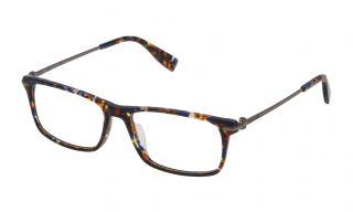 Gafas graduadas Trussardi VTR249 Marrón Rectangular