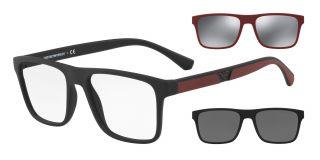 Gafas graduadas Emporio Armani EA4115 Negro Cuadrada