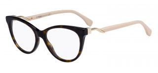 Gafas graduadas Fendi FF0201 Marrón Mariposa