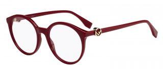 Gafas graduadas Fendi FF0309 Rojo Redonda