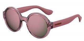 Gafas de sol Havaianas FLORIPA Rosa/Fucsia Redonda
