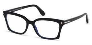 Gafas graduadas Tom Ford TF5552-B Negro Rectangular