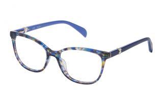 Gafas graduadas Tous VTOA37S Azul Cuadrada
