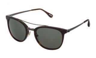 Gafas de sol Dunhill SDH134 Marrón Cuadrada