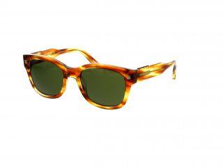 Gafas de sol Ermenegildo Zegna EZ0087 Marrón Cuadrada
