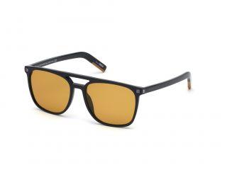 Gafas de sol Ermenegildo Zegna EZ0124 Negro Cuadrada