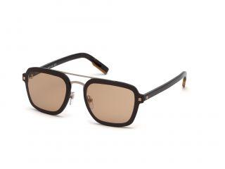 Gafas de sol Ermenegildo Zegna EZ0120 Marrón Cuadrada