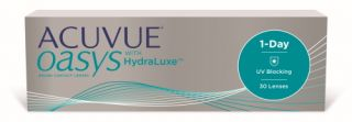 LC Acuvue Acuvue Oasys 1-Day with HydraLuxe 30 unidades