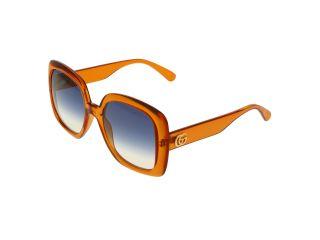 Ulleres de sol Gucci GG0713S Taronja Rectangular