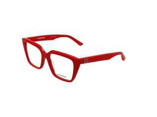 Gafas graduadas BALENCIAGA BB0130O Rojo Cuadrada