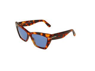 Gafas de sol Tom Ford FT0871 WYATT Marrón Mariposa