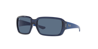 Ulleres de sol Ray Ban Junior 0RJ9072S Blau Rectangular