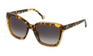Ulleres de sol CH Carolina Herrera SHE788 Groc Rectangular