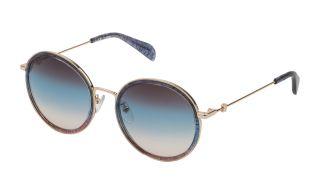 Gafas de sol Tous STO371 Dorados Redonda