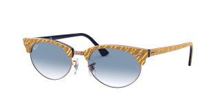 Gafas de sol Ray Ban 0RB3946 CLUBMASTER OVAL Beige Ovalada