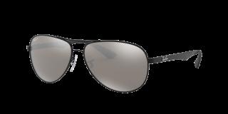 Gafas de sol Ray Ban 0RB8313 CARBON FIBRE Negro Aviador