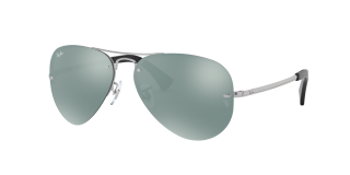 Gafas de sol Ray Ban 0RB3449 RB3449 Plateados Aviador