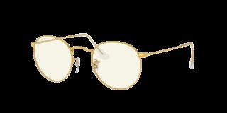 Gafas de sol Ray Ban 0RB3447 Dorados Redonda
