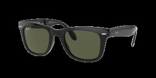 Gafas de sol Ray Ban 0RB4105 FOLDING WAYFARER Negro Cuadrada