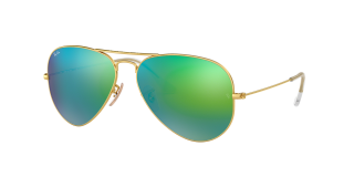 Ulleres de sol Ray Ban 0RB3025 AVIATOR LARGE METAL Negre Aviador