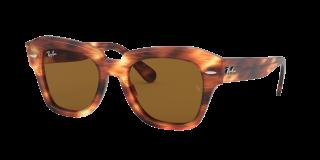 Gafas de sol Ray Ban 0RB2186 Marrón Cuadrada