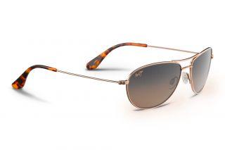 Gafas de sol Maui Jim HS245 CLIFF HOUSE Dorados Aviador