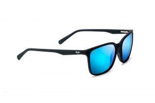 Gafas de sol Maui Jim B756 WILD COAST Negro Rectangular
