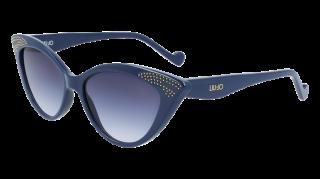 Ulleres de sol Liu Jo LJ743S Blau Papallona