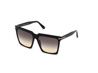 Gafas de sol Tom Ford FT0764 SABRINA-02 Negro Cuadrada