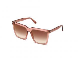 Gafas de sol Tom Ford FT0764 SABRINA-02 Rosa/Fucsia Cuadrada
