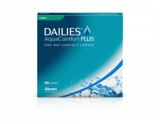 LC Dailies Dailies Aquacomfort Plus Toric 90 unidades