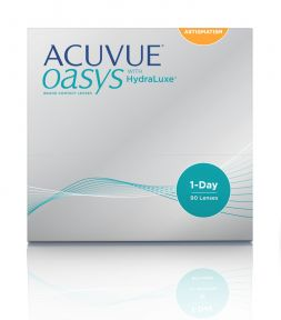LC Acuvue Acuvue Oasys 1-Day with HydraLuxe for Astigmatism