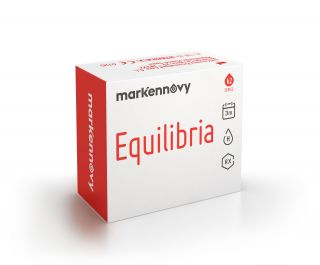 Lentilles Equilibria Equilibria Multifocal tòriques pack 2 unitats