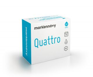 Lentilles Quattro Quattro Multifocal trimestrals pack 2 unitats
