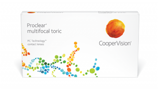 LC Proclear Proclear Multifocal Toric 3 unidades